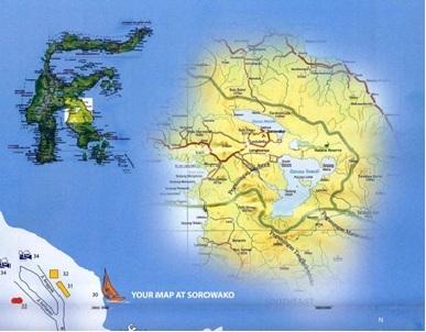 soroako's map